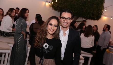 Dany Mina y Alejandro Mancilla.