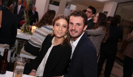 Sofía César y Jorge Gómez.