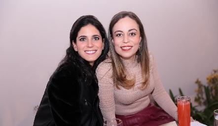 Maribel Rodríguez y Fernanda Torres.
