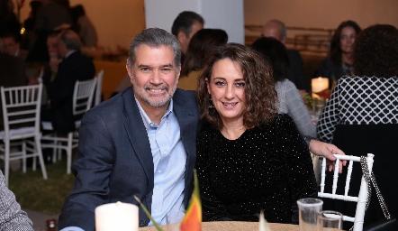 José Luis y Gloria Martínez de Leiva.