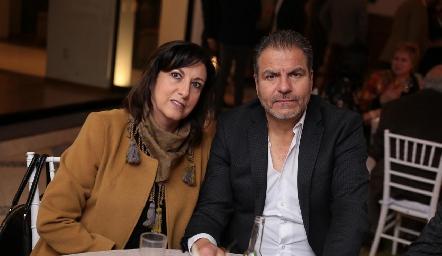Carmen Díaz Infante y Héctor Cabrera.