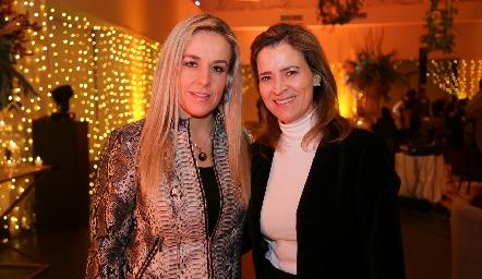 Mónica Torres y Marisa Valle.