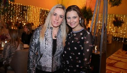 Mónica Torres y Rosamary Rosillo.