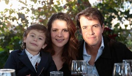 Mau Ruiz, Jessica Martín Alba y Javier Meade.