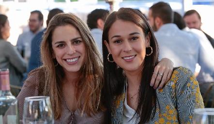 Paulina Aguirre y Carmelita Del Valle.