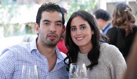 José Eduardo Torres y Bárbara Palau.