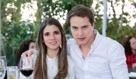 Isa Álvarez y Alejandro Cabrera.