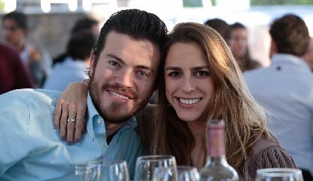 Roberto Lozano y Paulina Aguirre.