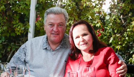 Antonio y Nena Díaz Infante.
