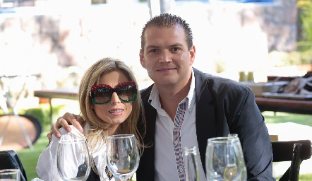 Claudia Oliva y Mauricio Ruiz.