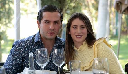 Mauricio Torres y Nuria Oliva.