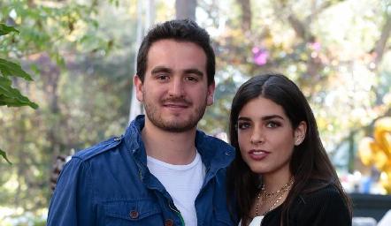 Julio Galindo y Ana Lucía Díaz Infante.
