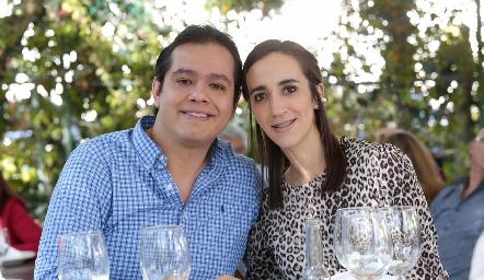 Luis Arias y Cristina Muñoz.