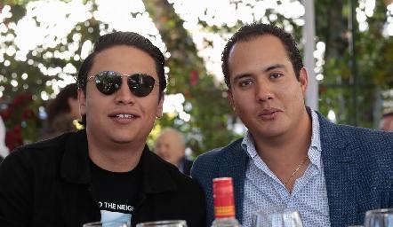 Juan Carlos Díaz de León y Carlos Sánchez.