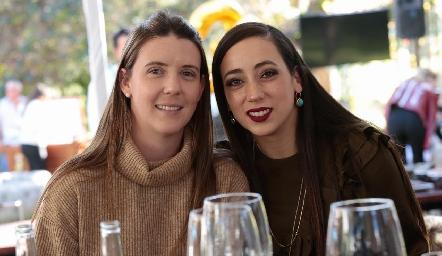 Cecilia Nosti y Samantha Corpi.