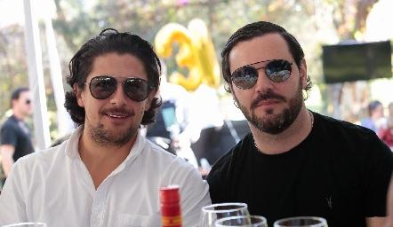 Roberto Fernández y Luis Antonio Mahbub.