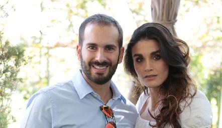 José Martín Alba y Gema Loredo.