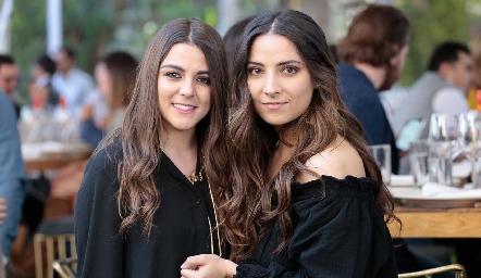 María Palomar y Daniela Torres.