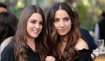 María y Daniela.
