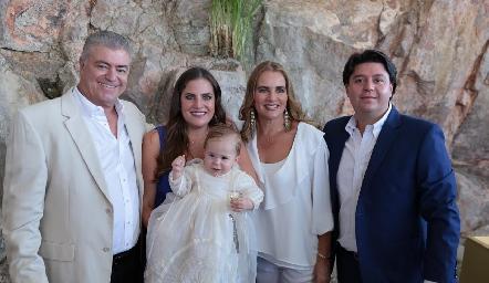 Roberto Lozano, Danitza Lozano, Daniel, Patricia Del Bosque y Daniel Zollino.