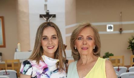 Renata González y Rosana Benavente.