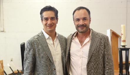 César y Eduardo Ramos.