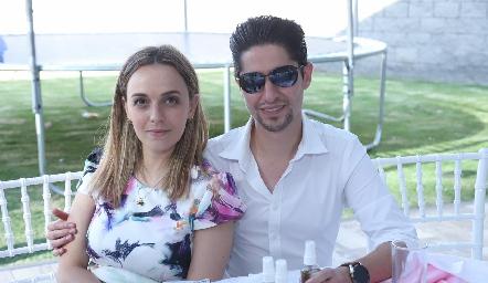 Renata González y Rodrigo Dauajare.