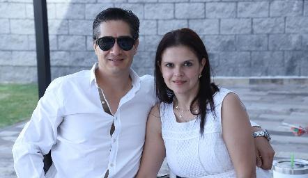 César Ramos y Cecilia Ponce.