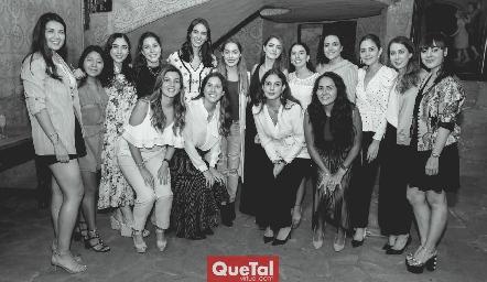 Despedida de Paulina Torres y Paola Córdova.