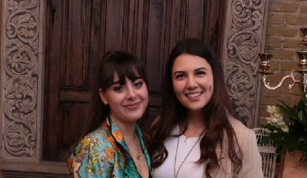 Paulina Gómez y Diana Villanueva.