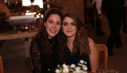 Lore de la Parra y Paola Gutiérrez.