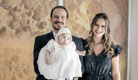 Pato, Martina y Cuque Valle.