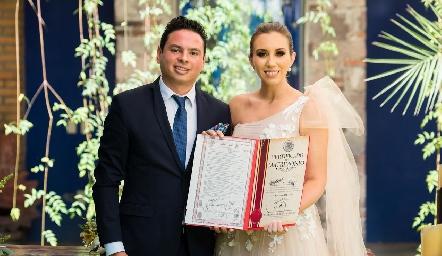 Esteban Meade y Patricia Dantuñano.