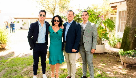 Familia Sánchez Espinosa.