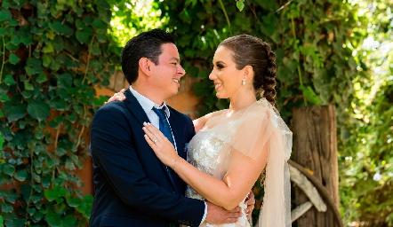 Marido y mujer, Barra Meade y Paty Dantuñano.