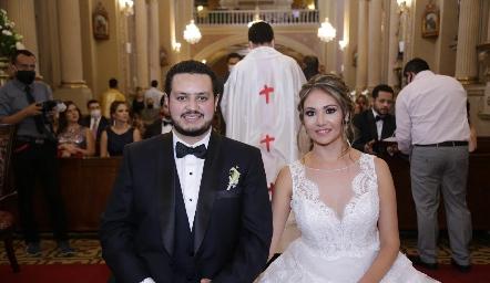 Mauricio Correa y Sofía Castillo Lorca.