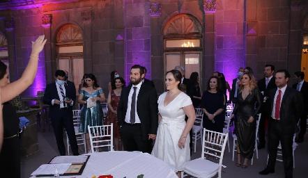 Boda de Arturo Zapata y Andrea Díaz Infante.