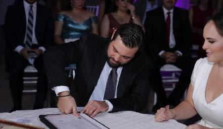Arturo Zapata y Andrea Díaz Infante.