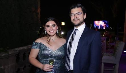 Ximena Zapata y Joserra González.