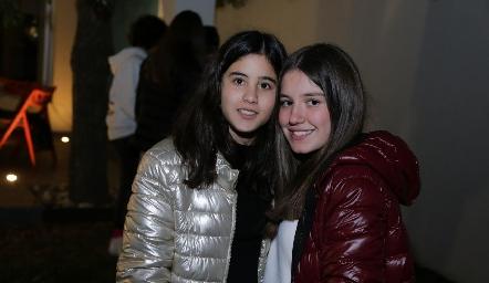 María y Anna Astrid.