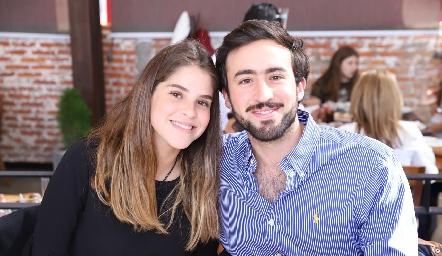 Emilia Rodríguez y Rafa Olvera.