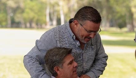 Rodrigo Gómez y Galo Galván.