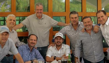 Gerardo Rodríguez, Juan Hernández, Salomón Dip, Rodrigo Gómez, Luis Nava, Pepe Guevara, Manuel Toledo y Javier Abella.