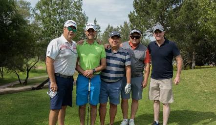 Salomón Dip, Gildo Gutiérrez, Jorge Villarreal, Humberto Abaroa y Rodrigo Hernández.
