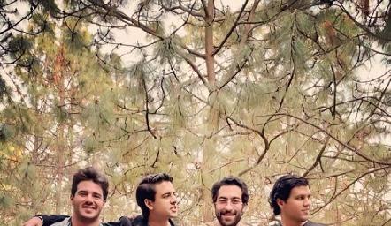 Miguel Meade, Gerardo Valle, Oscar Cadena y Juan Manuel Piñero.