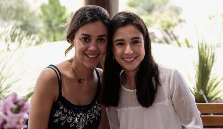 María Pía González y Teté Mancilla.