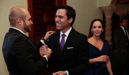 Primos Abel Rangel y Alejandro González.