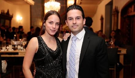 Rebeca Acosta y Arturo González.