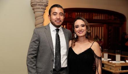 Paco Robles y Diana Gutiérrez.