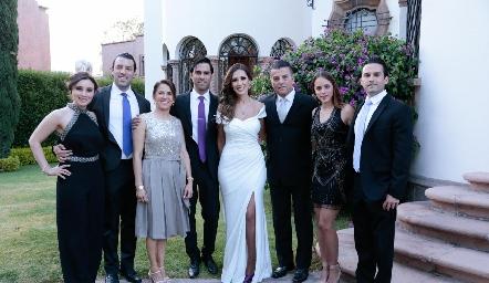 Familia González Rangel.